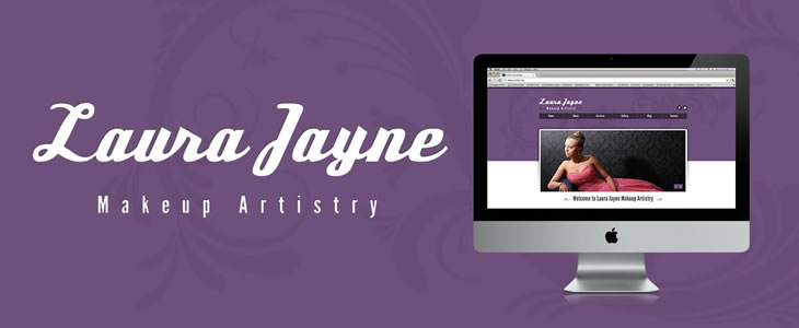 Laura Jayne Artistry | Just Creative | Tamworth Web Design
