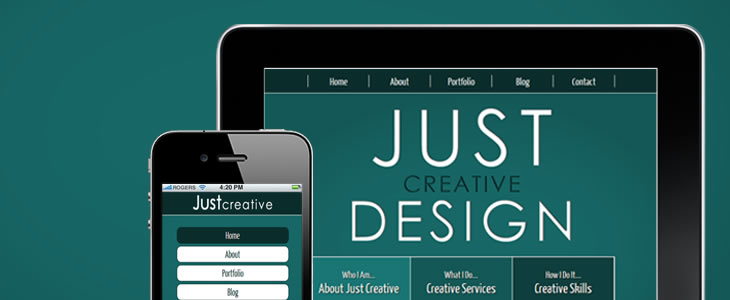 Just Creative | Tamworth Web Design