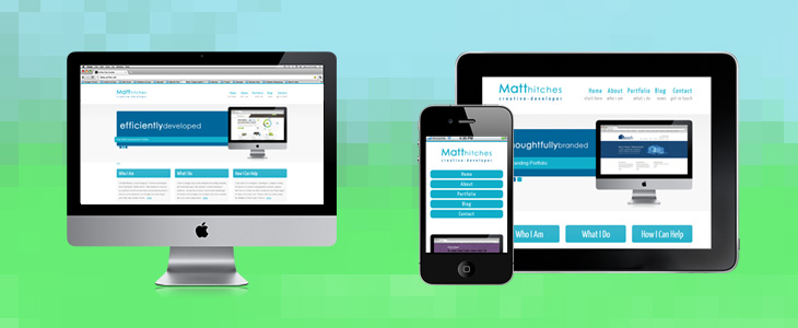 Responsive Web Design | Matt Hitches | Tamworth Web Design